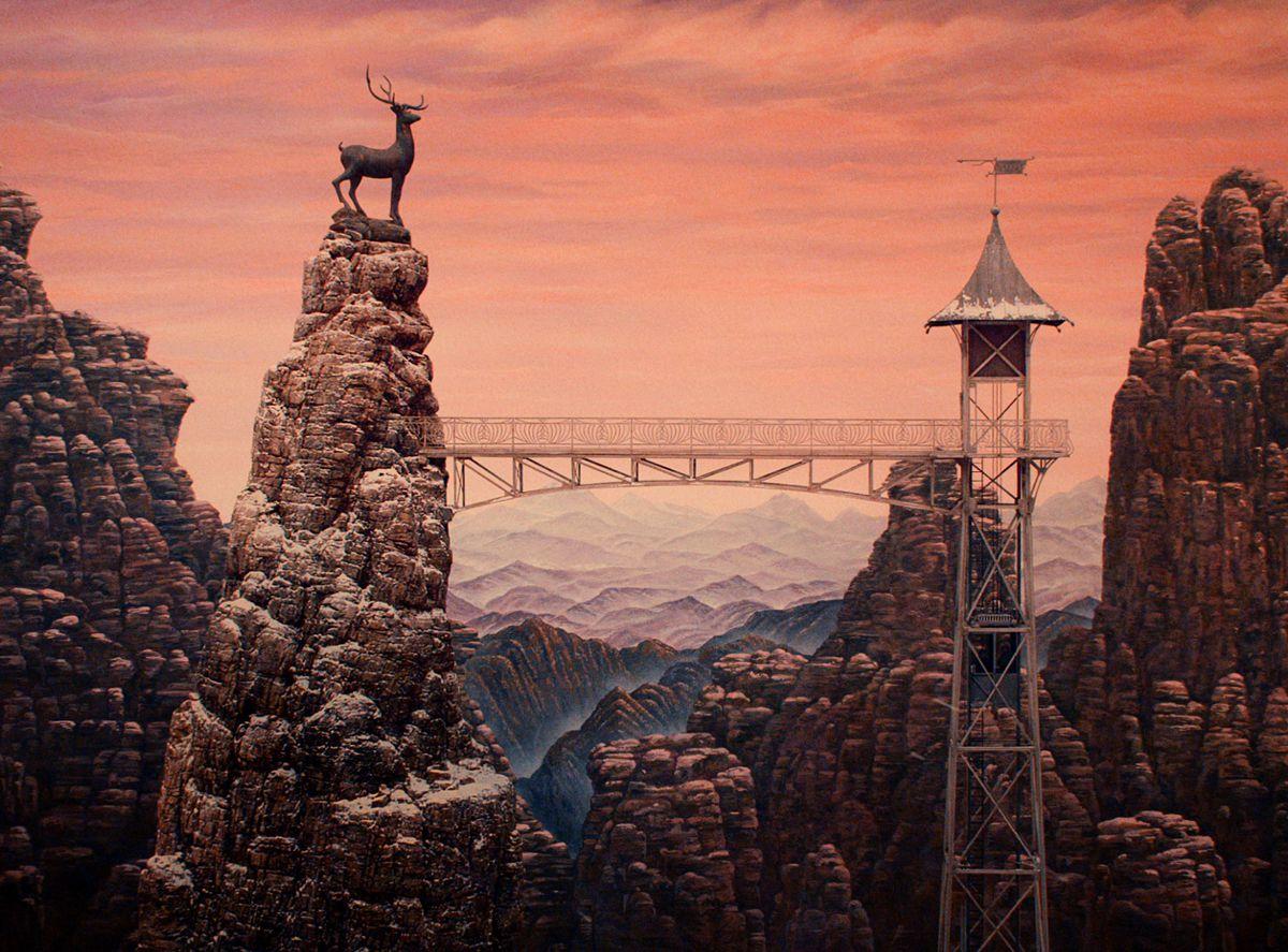 Grand Budapest Hotel Wallpaper: Vagabonding Through Zubrowka: Wes Anderson Style