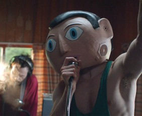 Michael Fassbender as 'Frank'