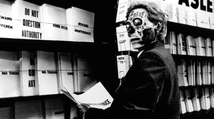 """They Live"" and Apocalyptic Tech Noir"