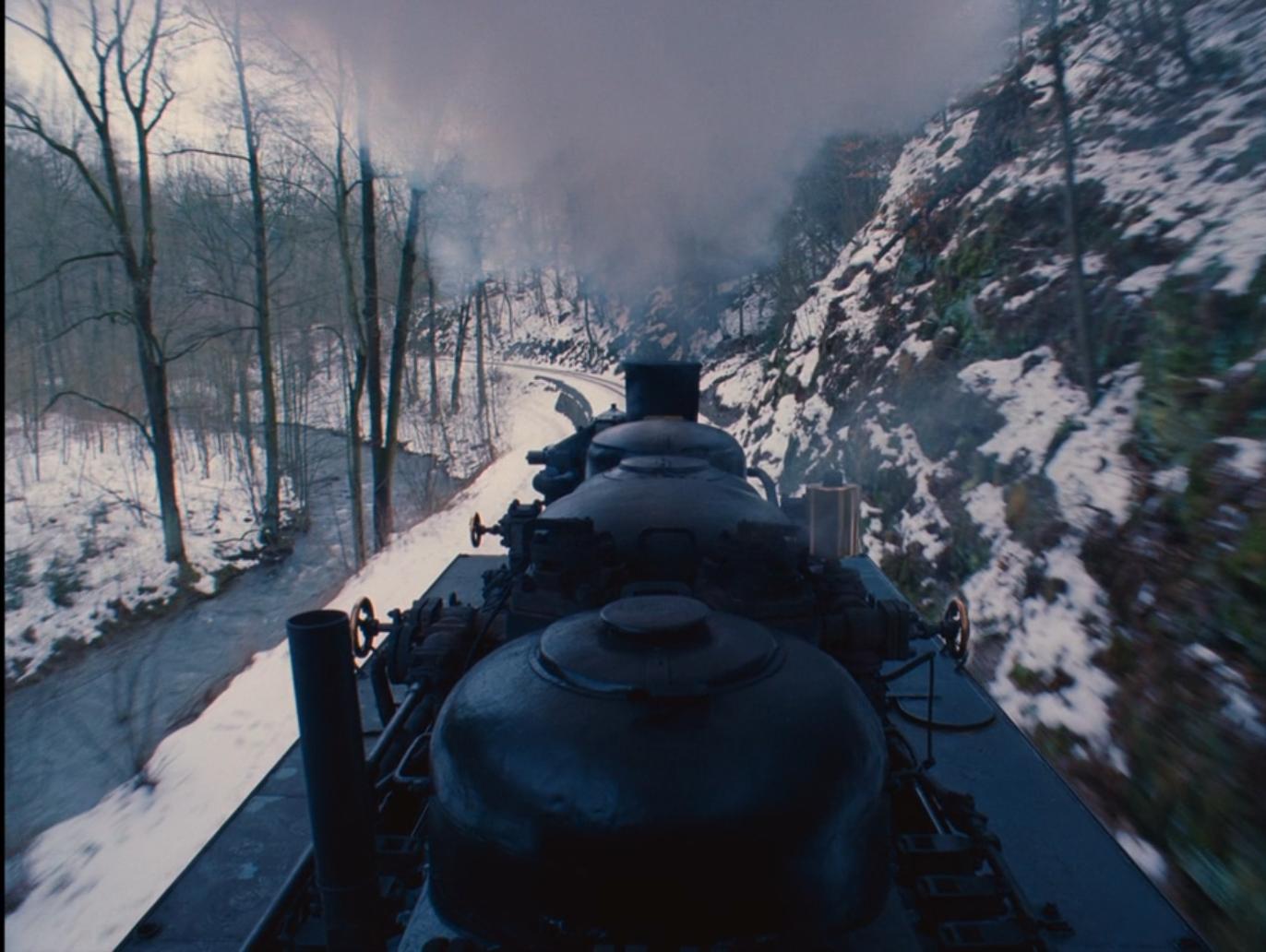 Grand Budapest Hotel - Train