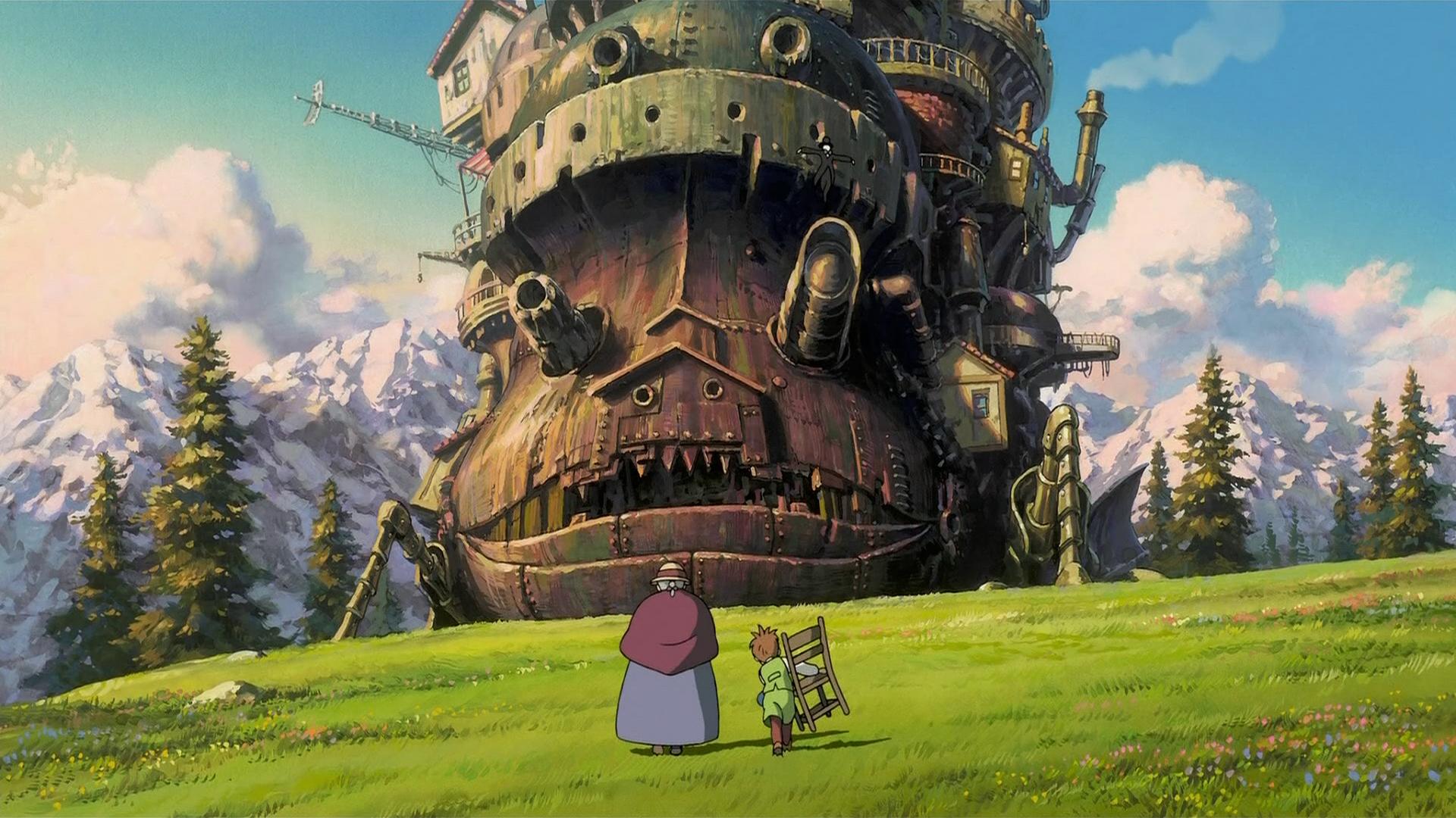 Image result for howl's moving castle