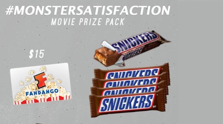 Monster Satisfaction Giveaway