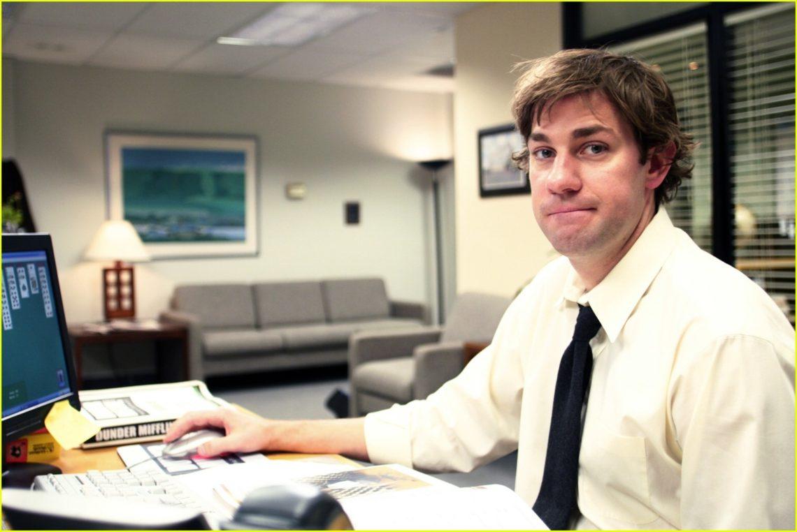 """John Krasinski's Search <br> Outside """"The Office"""""""